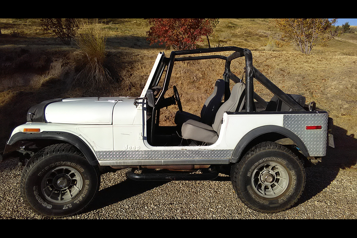 Brought this old 78 Jeep CJ7 back to life